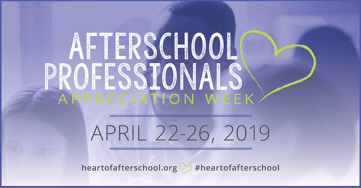 Afterschool Professionals Appreciation Week